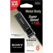 USB Flash Drive Sony Micro Vault Mach 8GB USB 3.0 Negru