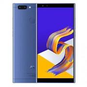LIANTIAN VFTR Cámaras duales traseras, identificación de Rostro y Huella Digital, 5.7 Pulgadas Android 8.1 MTK6750 Octa Core hasta 1.5GHz, Red: 4G, Dual SIM (Color : Blue)