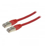Cable Red FTP Cat.6 de 0.5 metros rojo X-Case CAFTP6050