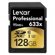 Lexar Professional 128GB Class 10 Uhs-i 633X Speed (95MB/s) Sdxc Flash