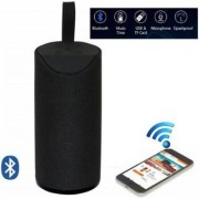 TG113 Super Bass Splashproof Wireless Bluetooth Speaker Best Sound Quality Playing Mobile/Tablet/AUX/Memory Card (Black)