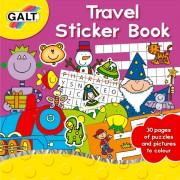 Carte de activitati cu abtibilduri Travel Galt