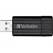 Verbatim Pin Stripe USB-minne 8 GB Svart 49062 USB 2.0