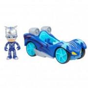 Set de joaca Pisoi si Pisi Mobilul Eroi in Pijama Turbo Blast Racers