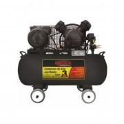 Compresor De Aire 3HP Banda Horizontal 60L Mikels