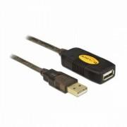 Hosszabbító Kábel DELOCK 82308 USB 2.0 5 m