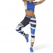 REEBOK Leggings Wor Myt Engineered, bedruckt