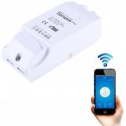 Sonoff Temperatura Y Humedad Th16 DIY 16a Modulo Control Remoto WiFi Smart Switch Para Smart Home, De Apoyo De IOS Y Android