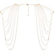 Coprispalle a catena Bijoux Indiscrets Magnifique Shoulder Jewelry Oro