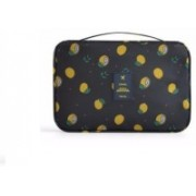 GRH Travel Wash Bag Toiletry Kit with Hook Travel Toiletry Kit(Black)