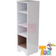 TODI Bianco Nyitott szekrény