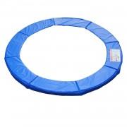 HOMCOM Copertura Bordo di Protezione per Trampolino Elastico Giaridno in PVC Blu, Ø244cm