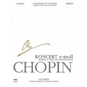 Concerto in E Minor Op. 11 - Version with Second Piano: Chopin National Edition 30b, Vol. Vla, Paperback