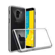 Capa de silicone transparente Samsung Galaxy J6 Plus