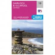 Ordnance Survey Gairloch / Ullapool (Loch Maree) Carta escursionistica