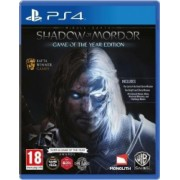 Joc Middle Earth shadow of mordor goty - ps4