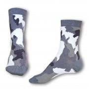 Styx Ponožky Styx crazy šedý maskáč (H328) L