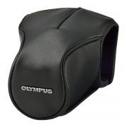 Olympus CS-46 FBC läderväska, för E-M5 Mark II + t ex M. Zuiko 12-50/3,5-5,6
