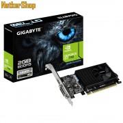 GIGABYTE Nvidia Geforce GT730 GV-N730D5-2GL 2GB DDR5 PCI Express LP Videokártya (3 év garancia)