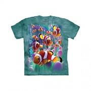 The Mountain Clownfish Playera Infantil (Talla XL), Color Azul
