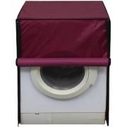Glassiano waterproof and dustproof Maroon washing machine cover for Siemens WM14S790GC Washing Machine