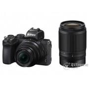 Kit Aparat foto Nikon Z50 (16-50mm VR + 50-250mm VR obiectiv), negru