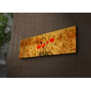 Tablou pe panza iluminat Ledda, 254LED1221, 30 x 90 cm, panza