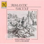 Video Delta Linde,Hans Martin - Romantic Baroque - CD