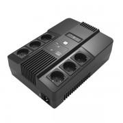 UPS 800VA MONOFASE 6 SCHUKO SAI-UPSSAI800