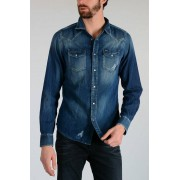Diesel Camicia NEW-SONORA In Denim taglia Xs