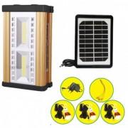 Kit Solar Lanterna LED 10W COB LED DAT AT8327 Panou Incarcare Solara