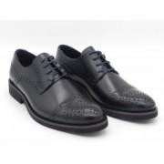 Pantofi barbati, Leofex, model, 537, piele naturala, bleumarin