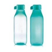 Szögletes öko palack 500 ml világos türkiz csavaros kupakkal Tupperware