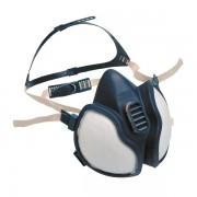 Respiratore a semimaschera 3M - 408786 Respiratore a semimaschera classe ffabe 1p3 senza valvola in elastomero termoplastico di colore blu in confezione da 1 Pz.