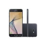 Smartphone Samsung Galaxy J5 Prime Dual Chip Android 6.0 Tela 5 Quad-Core 1.4 GHz 32GB 4G Wi-Fi Câmera 13MP com Leitor de Digital - Preto