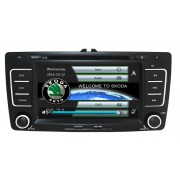 Navigatie Gps Skoda Octavia 2 ( 2009-2013 ) , Windows 6.0 , Dvd Player , Usb , Bluetooth , Card 8GB Europa full
