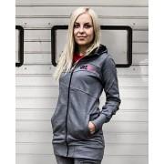 kapucnis pulóver női - Molloy - FUNSTORM - 20 D GREY