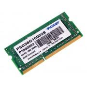 Модуль памяти Patriot Memory DDR3 SO-DIMM 1600Mhz PC3-12800 CL11 - 8Gb PSD38G16002S