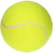 Geen Opblaasbare tennisbal XL geel 20 cm