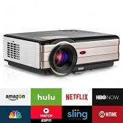 Video Projector Wireless 3500 Lumens, Android WiFi LCD 200Ÿ??Ÿ?? Home