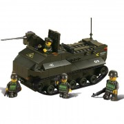 Sluban | Stavebnice obojživelného tanku