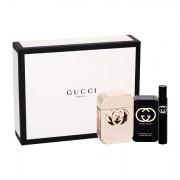 Gucci Gucci Guilty confezione regalo Eau de Toilette 75 ml + lozione per il corpo 100 ml + Eau de Toilette 7,4 ml donna