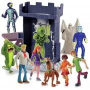 Torre Del Terror Scooby Doo Con 10 Figuras - 06507