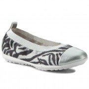 Balerina GEOX - J Piuma Ball B J62B0B 0CBNF C1351 Off White/Black