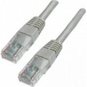 Cablu U/UTP EQUIP Patchcord Cat 6 15m Gri