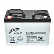 RA12-100 12V 100 Ah Zárt ólomzselés akkumulátor (RITAR