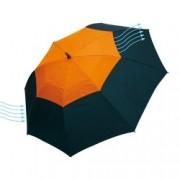 Umbrela Monsun Orange Black