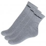 Head 3PACK ponožky HEAD šedé (771026001 400) L