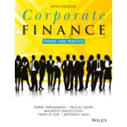 Corporate Finance - Theory and Practice (Vernimmen Pierre)(Paperback) (9781119424482)