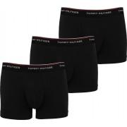 Tommy Hilfiger Shorts 3er-Pack Trunk Schwarz - Schwarz Größe L